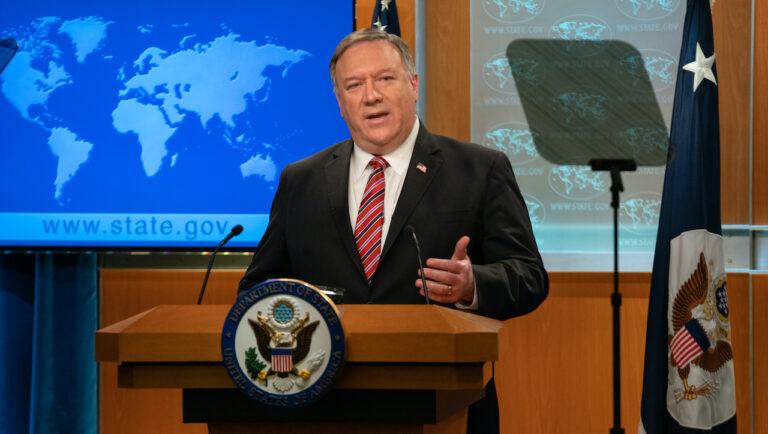 U.S. Secretary of State Michael Pompeo