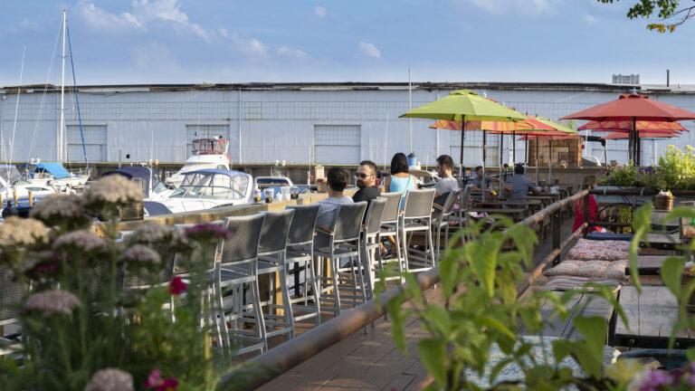 Morgan's Pier in 2015 (Danya Henninger/Billy Penn)