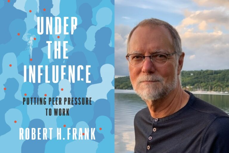 Robert H. Frank's new book Under the Influence: Putting Peer Pressure to Work examines the role of social influence in enacting larger social change.