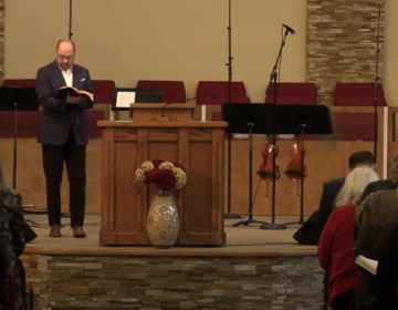 Pastor Tobe Witmer of Lighthouse Baptist Church in Newark was one of 174 Delaware pastors who signed a letter to Carney on May 16 urging him to reopen churches in the state. (Courtesy of Lighthouse Baptist Church)