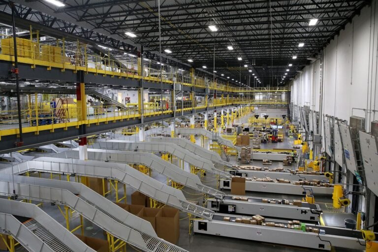 Amazon fulfillment facility