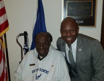 Rob Grier says if he weren't taking care of him, his dad, Robert Grier Sr., would probably need to be in a nursing home. (Courtesy of Rob Grier)
