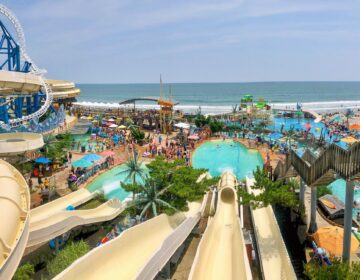 Ocean Oasis Water Park and Beach Club in Wildwood, New Jersey.