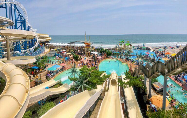 Ocean Oasis Water Park and Beach Club in Wildwood, New Jersey.