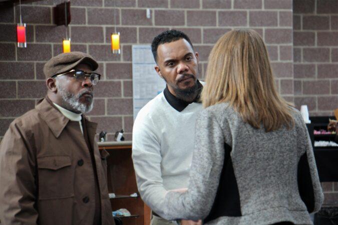 Jason Gaines talks with Maureen Martin