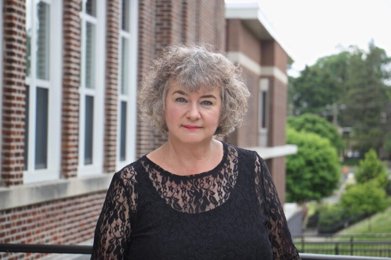 Susan Ohrt, a music teacher at Myers Elementary School in Elkins Park, will retire at the end of the school year. (Emma Lee/WHYY)