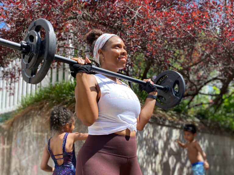Nelly Gonzalez lives fitness and teaches group workout classes at her gym, but she has no plans to go back anytime soon. (Andres Gonzalez)