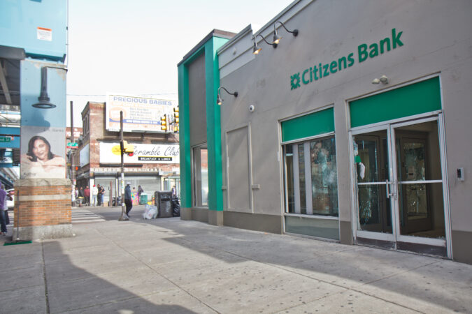 Citizens Bank at 52nd and Market streets