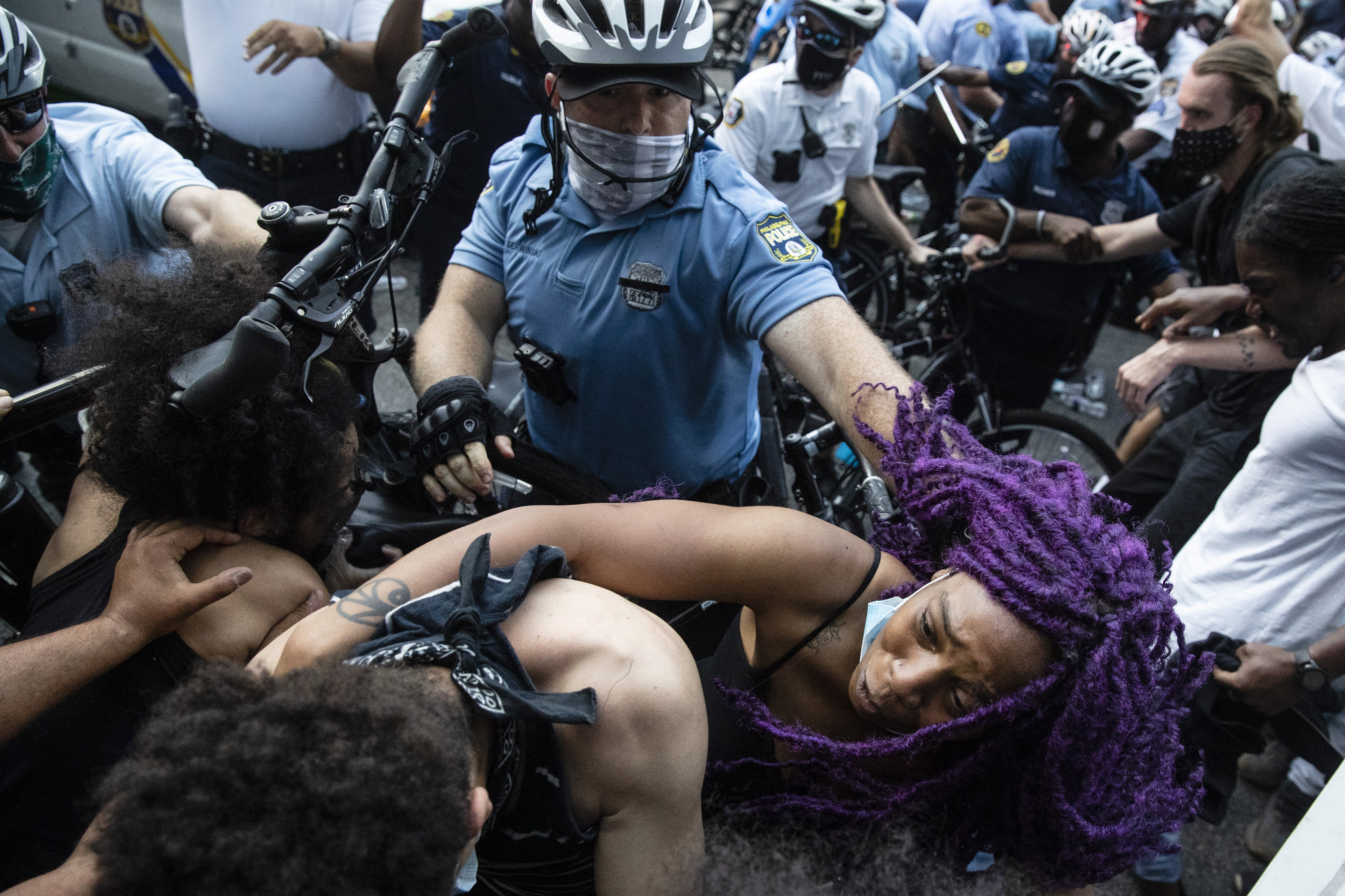 Minneapolis Police Death Protests Philadelphia