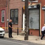 ATM's were apparently targeted overnight in Fishtown