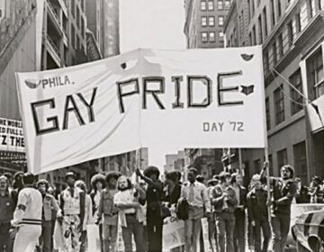 Philly's gay pride parade in 1972
