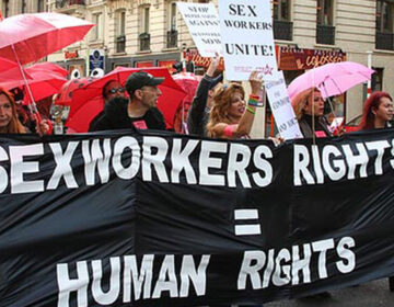 Philly sex workers march in 2012