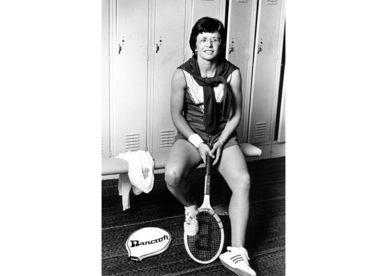 Billie Jean King photographed by Lynn Gilbert 1978, New York (Lynn Gilbert/CC BY-SA)