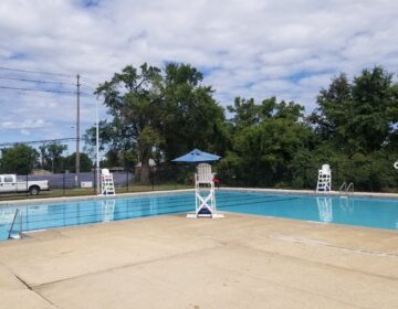 Eden Park's pool is one of four public swimming facilities in Wilmington that open Wednesday with COVID-19 restrictions. (City of Wilmington)