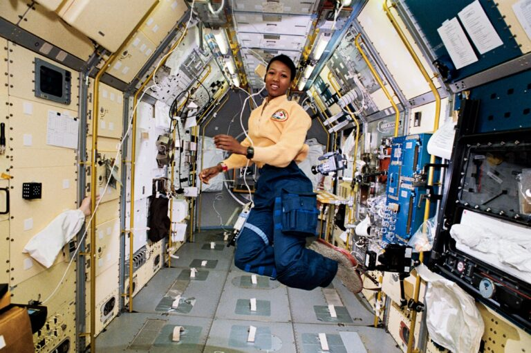 Mae Jemison in Space