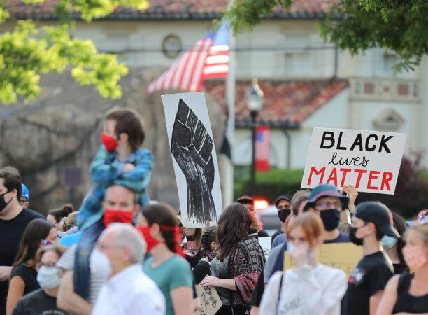 BLM march in Glen Rock