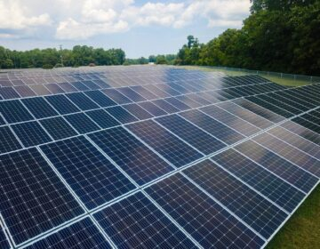 Chambersburg in entering a 20-year power purchase agreement with Virginia-based Sun Tribe on a solar facility like the one seen here. (Courtesy Sun Tribe)