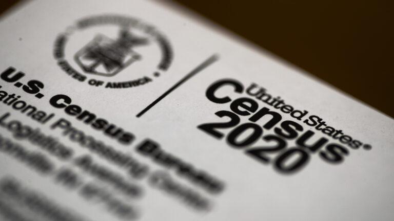 The 2020 census form. (Matt Rourke/AP Photo)