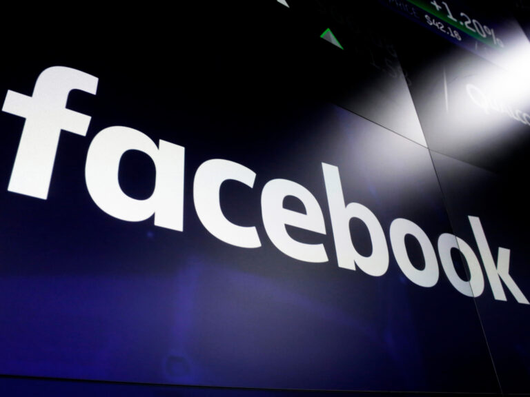 A Facebook logo is pictured in a file photo.