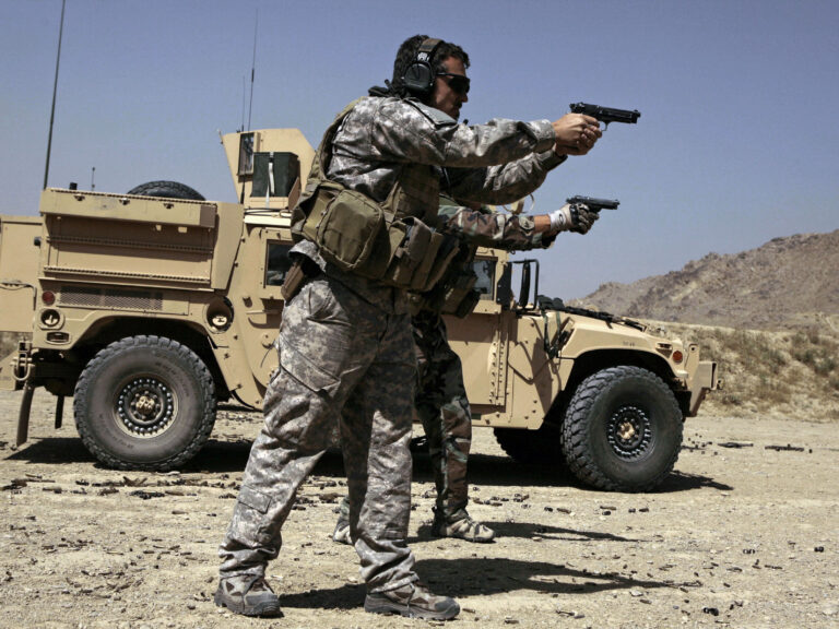 U.S. Army Special Forces soldiers trained in Afghanistan in 2009. Members of Congress want answers about alleged Russian bounties paid to target American troops.