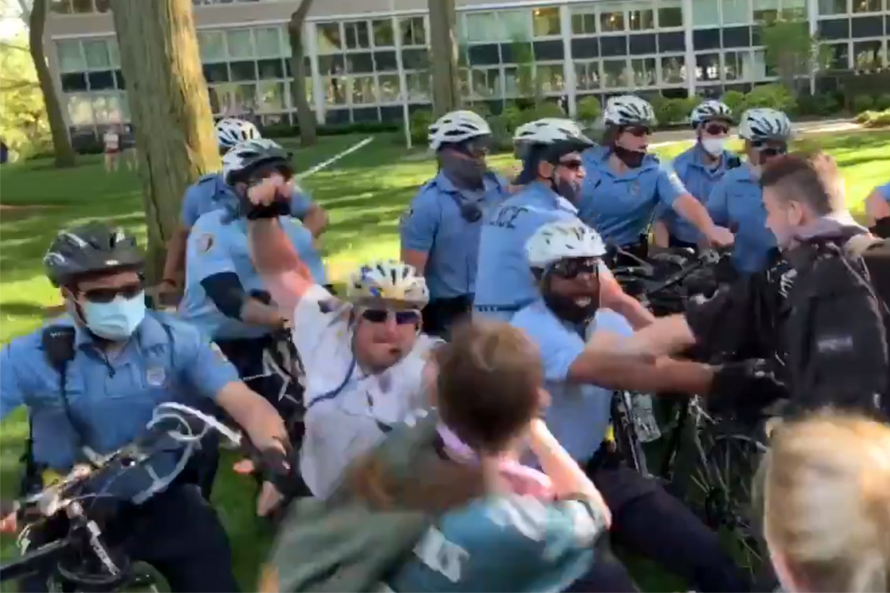 Philly police commander seen beating protesters in two videos has a long history of misconduct