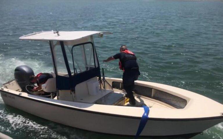 Coast Guard, good Samaritan rescue four people