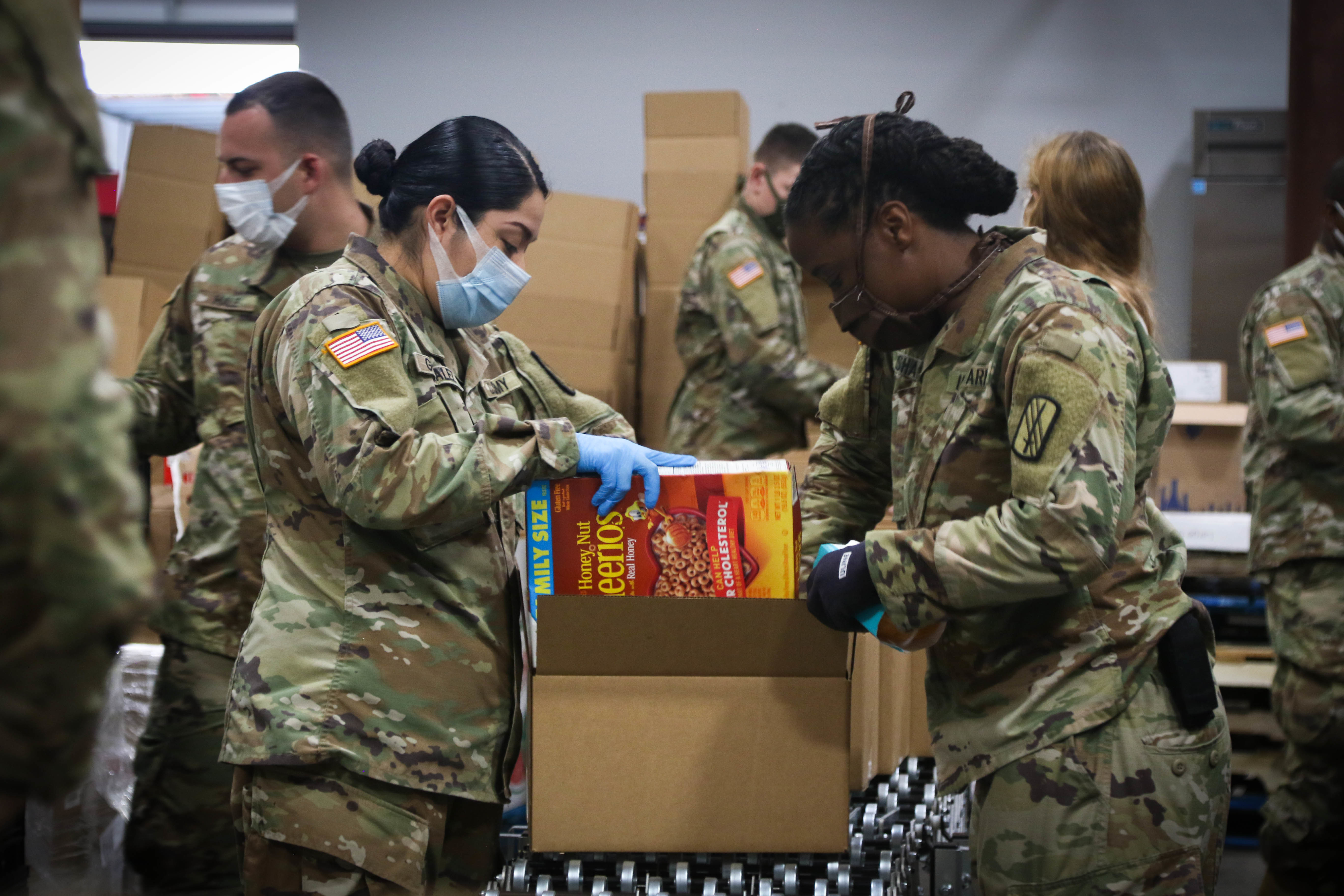North Carolina Army National Guard help supports COVID-19 relief efforts