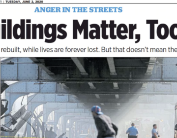 Buildings Matter, Too column in the Philadelphia Inquirer