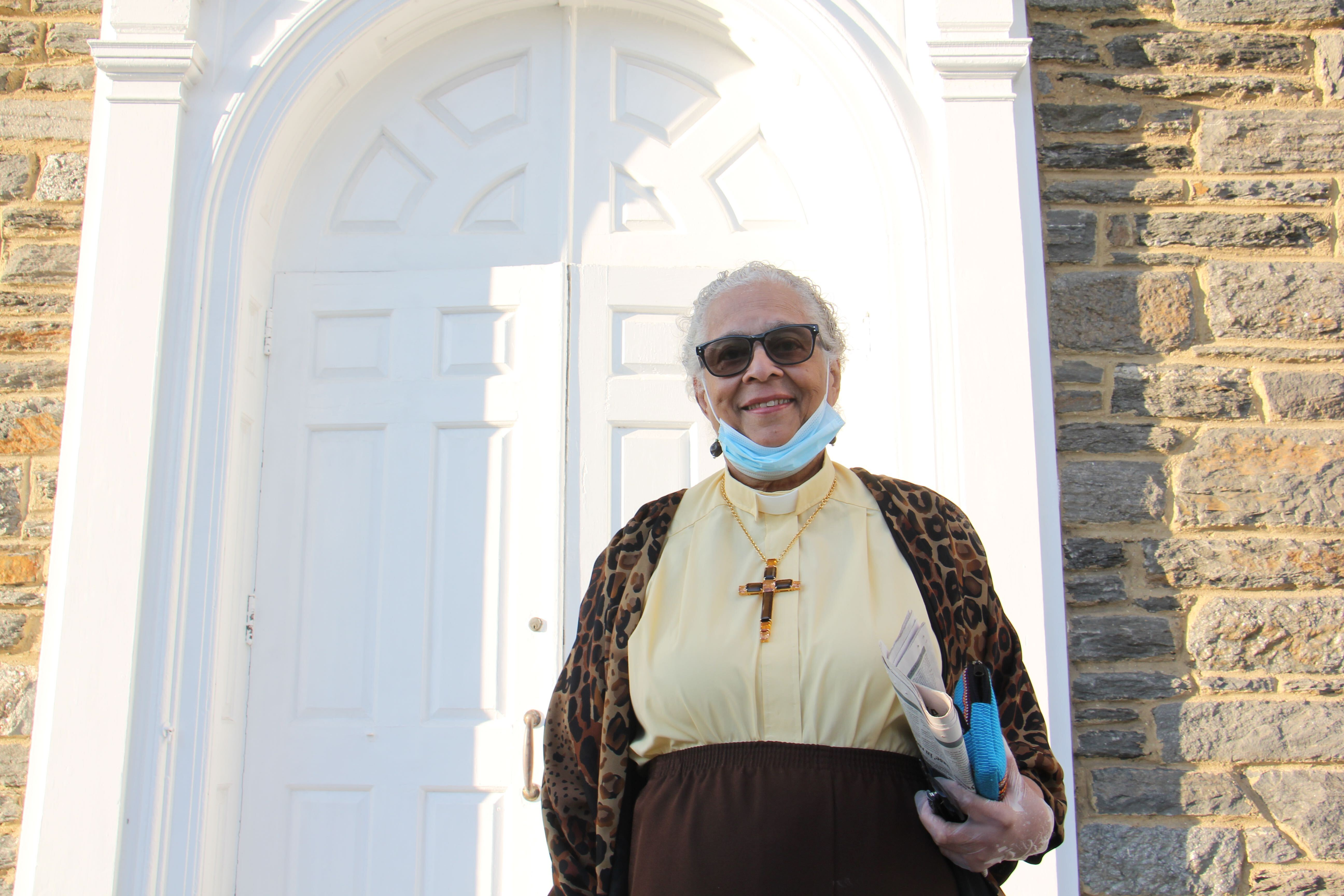 Rev. Ethelyn Taylor, pastor of Oxford Presbyterian in Mt. Airy