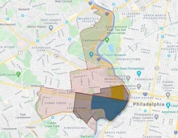 The University City area is one of the most heavily patrolled in Philadelphia. (Billy Penn/Google Maps)