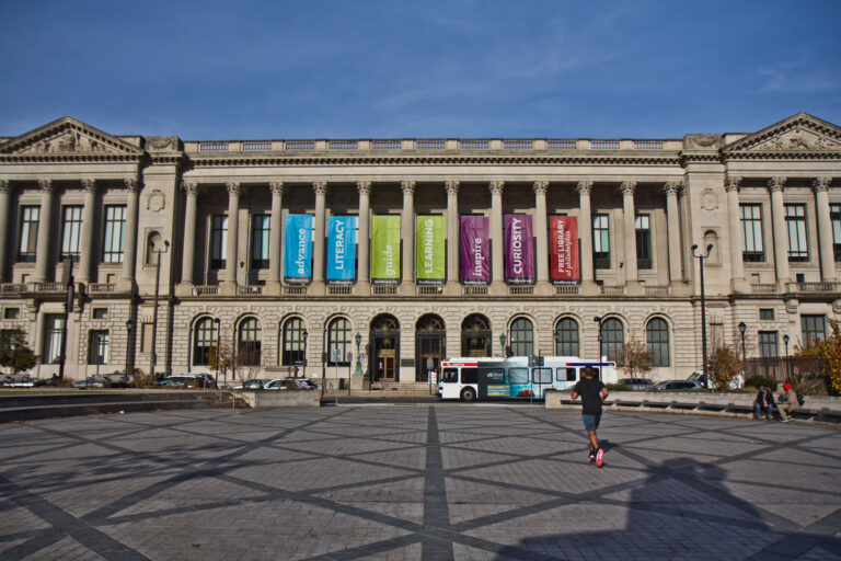 Central Branch of Philadelphia Free Public Library. (Kimberly Paynter/WHYY)