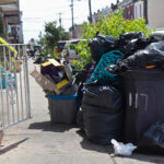 Some city residents say they are fed up with delayed trash collection. The city says sanitation workers are worked harder than ever, due to more people staying home and making more trash. (Kimberly Paynter/WHYY)