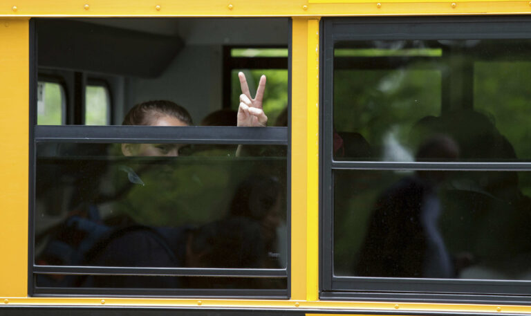 Delaware parents will have to wait until August to learn how the state plans to restart schools. (AP Photo/Suchat Pederson)