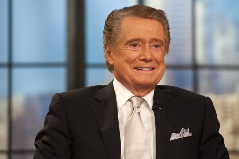 In this Nov. 18, 2011 file photo, Regis Philbin appears on his farewell episode of