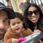 Aria Valentina Riso in between her mom, Chelsie DeSouza and dad, Vincent Riso, while enjoying a day out in Philadelphia. (Courtesy of Chelsie DeSouza)