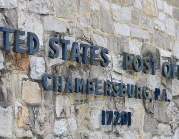 Chambersburg post office. (Brett Sholtis / WITF)