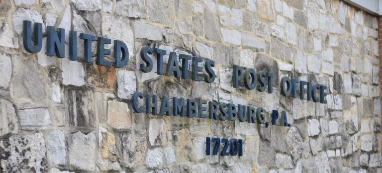 Chambersburg post office. (Brett Sholtis / WITF)