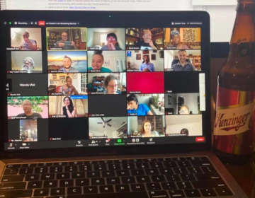 12th Annual Beer Summit takes place by Zoom. (Courtesy of Rev. David Brown)