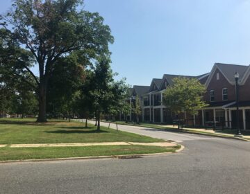 The Flats, an affordable housing community in western Wilmington, Del. (Mark Eichmann/WHYY)
