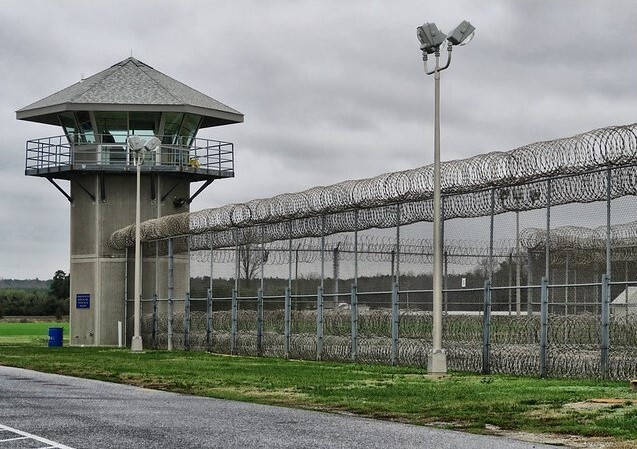 More than one-third of the incarcerated men at the Sussex prison tested positive for the coronavirus. (Delaware Department of Correction)