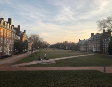 The University of Delaware has decided to hold almost all classes remotely this fall, and limit dorms primarily to students requiring face-to-face instruction. (Cris Barrish/WHYY)