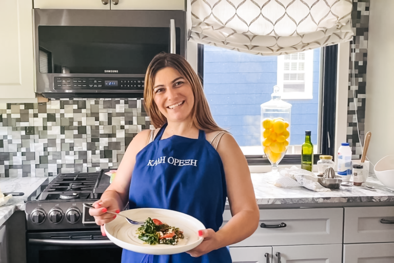 Mrs. Mylonas's Greek Cooking Corner
