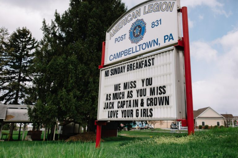 Campbelltown, a small community in Lebanon County, was among the last in the state to advance through Gov. Wolf's reopening plan. (Kate Landis / PA Post)