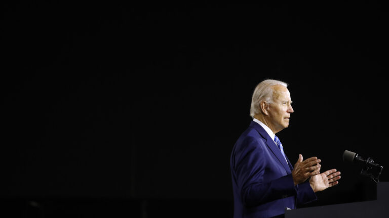 Former Vice President Joe Biden's plan is coming as the country faces an unprecedented child care crisis, amid the coronavirus pandemic. (Patrick Semansky/AP Photo)