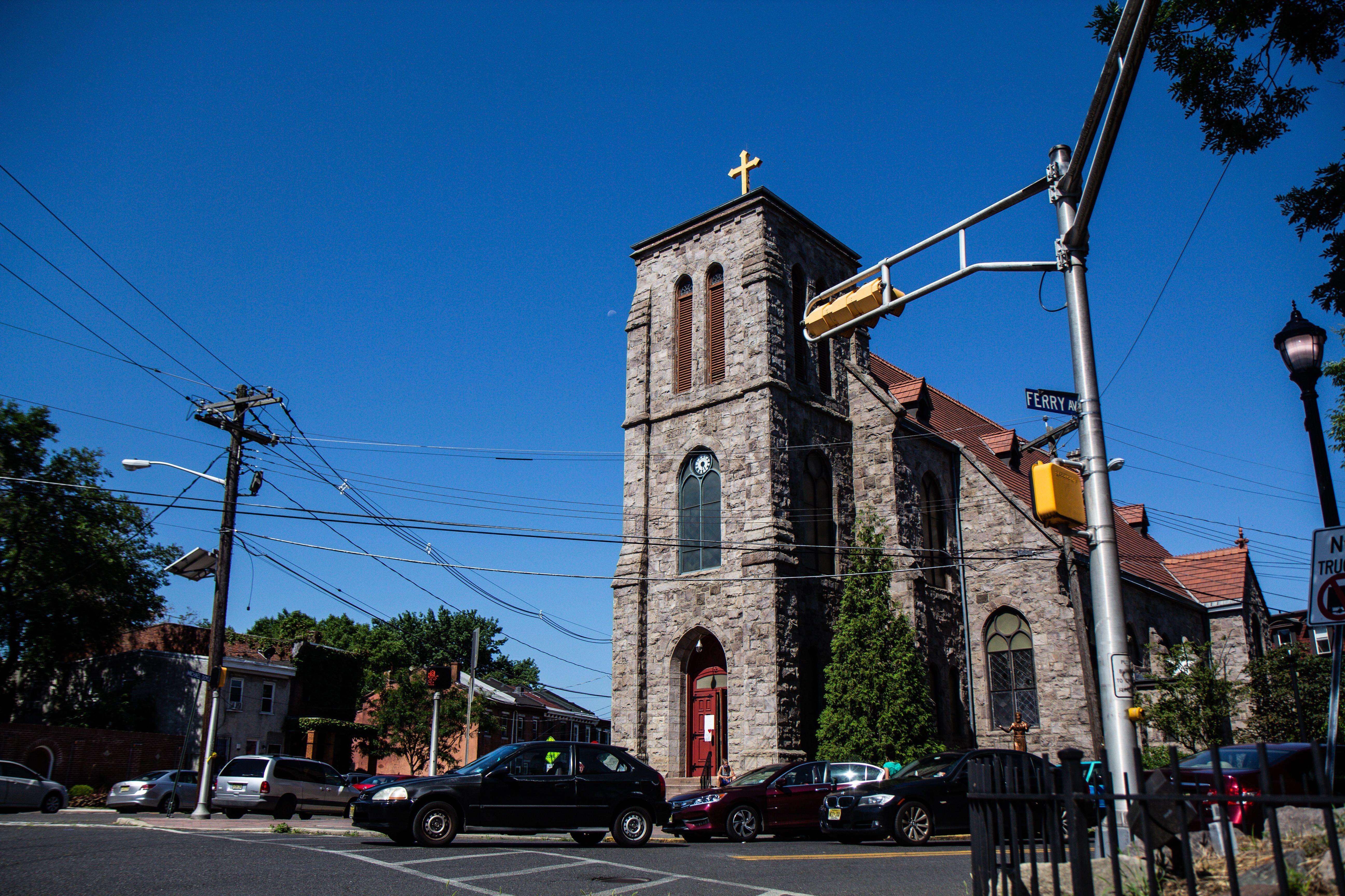 Sacred Heart Church in Camden, N.J.