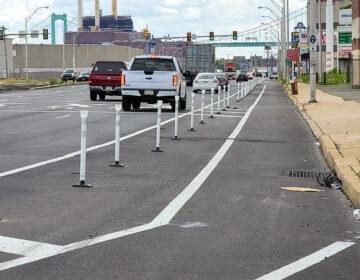 South Philly bike lane