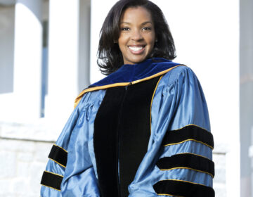 Erika James was named as Wharton School of Business at the University of Pennsylvania's  15th dean in February and officially started the job earlier this month. She is the first woman and person of color in the position. (Emory University)