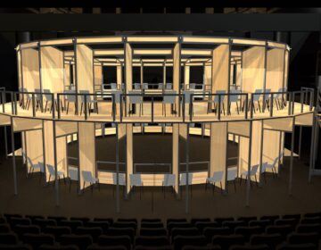 Wilma Theater redesign for the COVID era