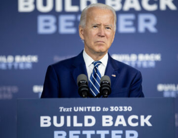 Presumptive Democratic presidential nominee Joe Biden, seen here on July 21, has unveiled the fourth plank of his