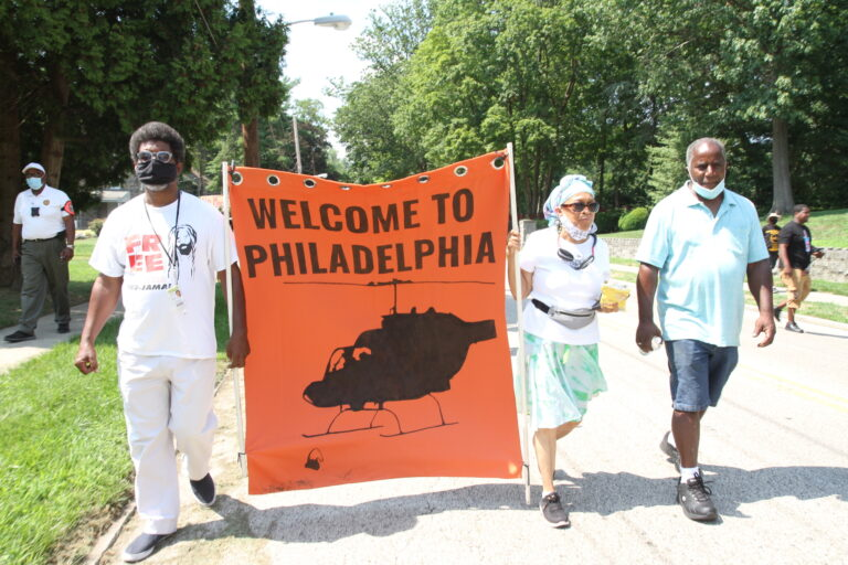 Protesters rally against street sign named after former Philadelphia Mayor Goode